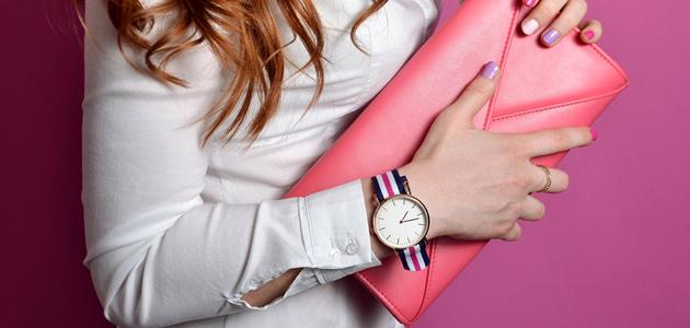 Dámské módní hodinky.